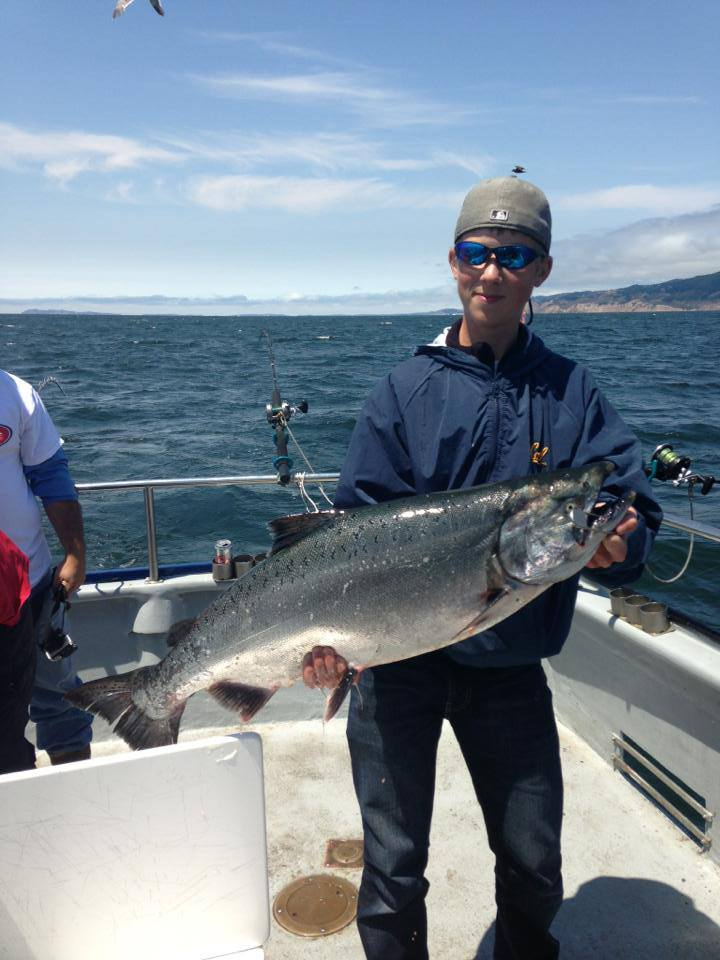 salmon fishing charters san francisco