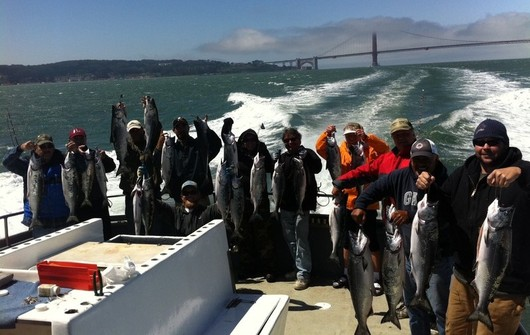 Gallery take a look through some of our recent fishing for San francisco fishing charters